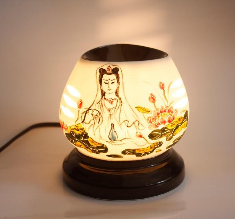 cấu tạo đèn xông tinh dầu
