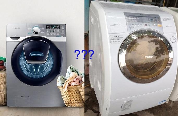 chọn máy giặt mới hay máy giặt nội địa nhật