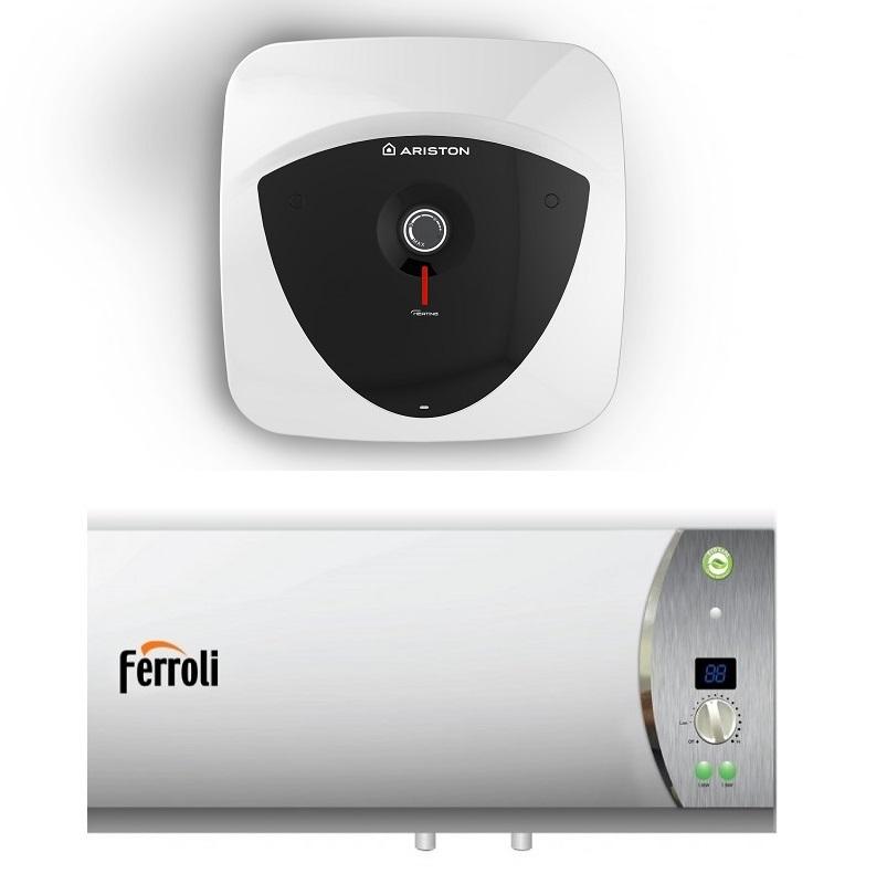 Bình nóng lạnh ariston hay ferroli