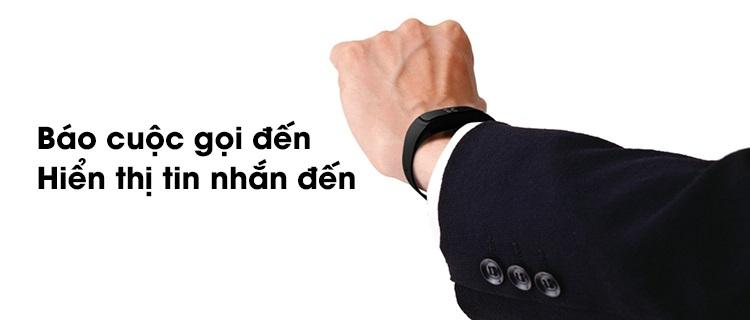 Vòng đeo tay thông minh thông báo tin nhắn, cuộc gọi đến