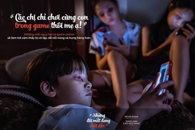cho trẻ xem điện thoại đúng cách