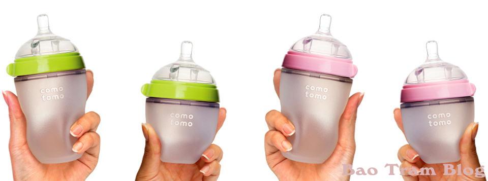 Bộ đôi bình Sữa cho bé Comotomo 150ml và 250ml