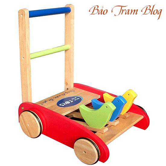 xe tập đi bằng gỗ winwintoys 60012k