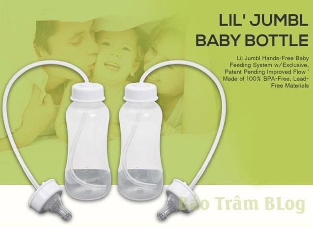Bình sữa rảnh tay Lil Jumbl