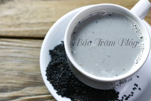 cách làm sữa hạt mè đen