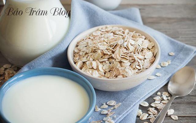 cách làm sữa yến mạch