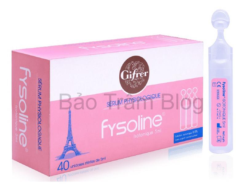 Nước muối sinh lý đơn liều Fysoline