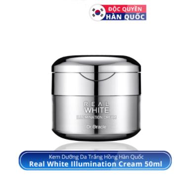 kem dưỡng nâng tone da real white