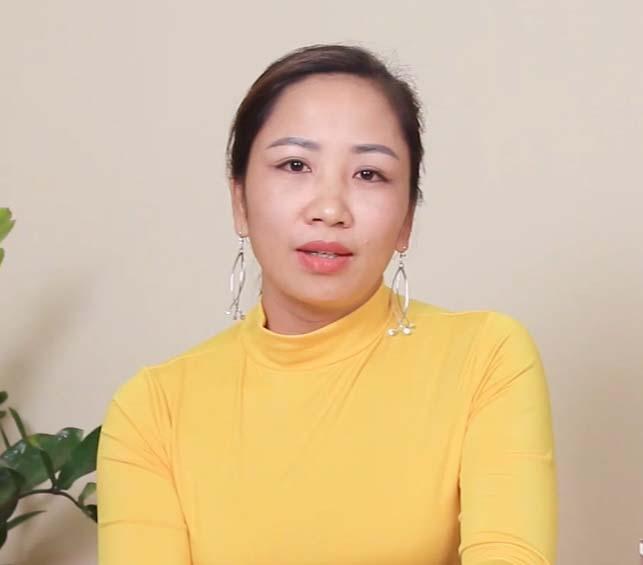 Chị Ngọc Anh, 35 tuổi