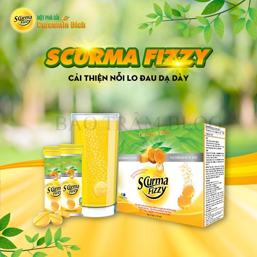 Viên sủi Scurma Fizzy có tốt không