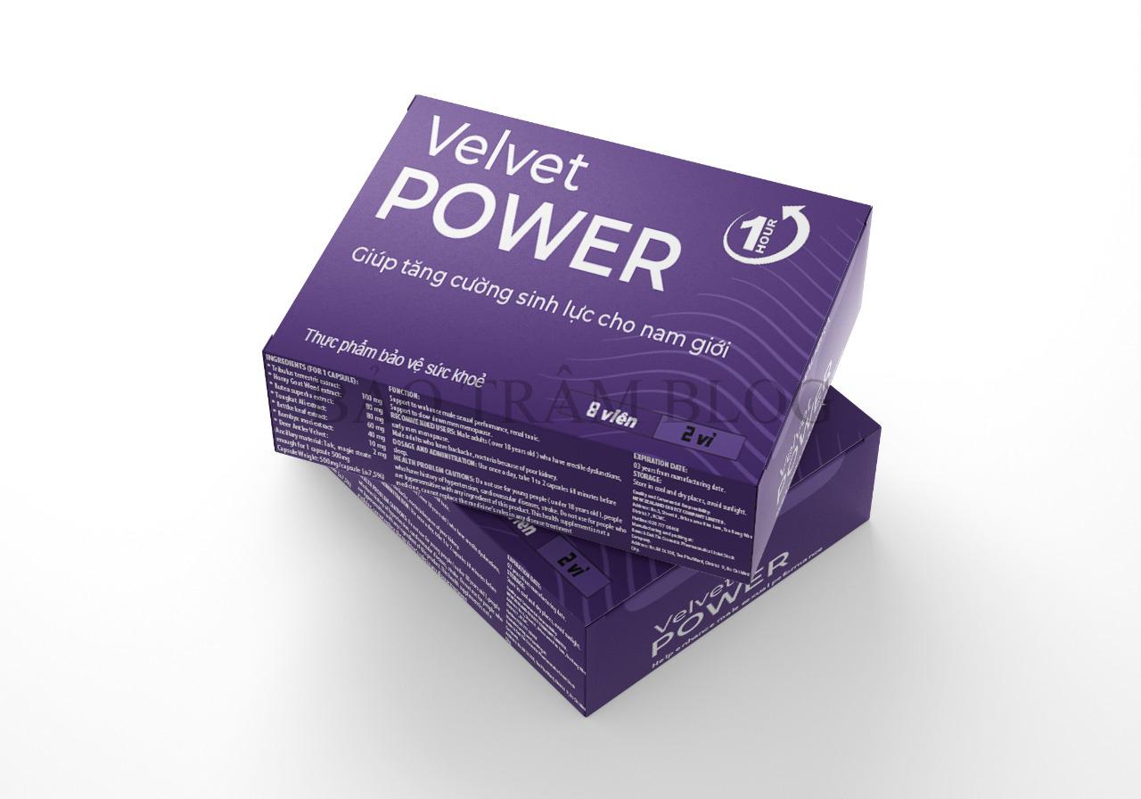 Viên uống Velvet Power 1 Hour