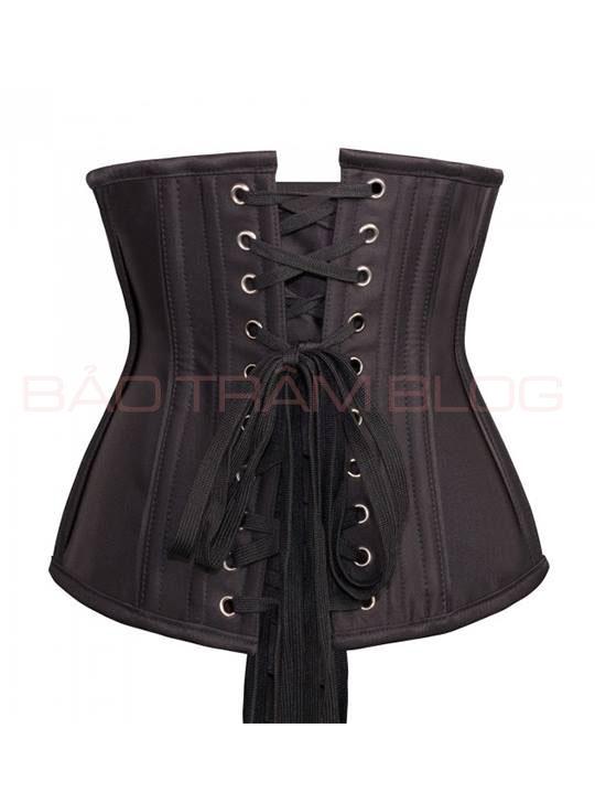 so sánh đai nịt bụng latex và corset