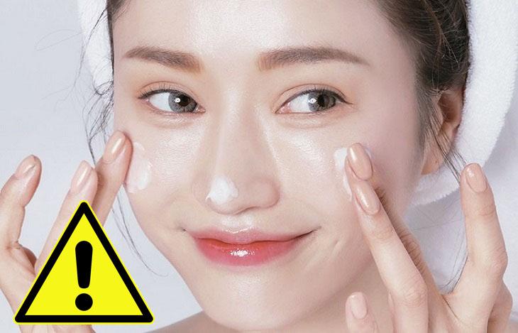 5 sai lầm trong cách chăm sóc da mặt