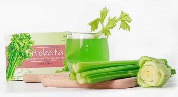 bột cần tây sitokata có tốt không?