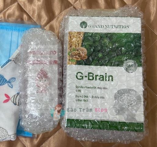 review cốm trí não G-Brain có tốt không? Giá bao nhiêu?