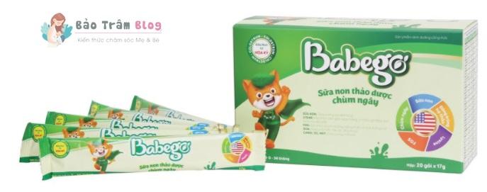 review sữa non thảo dược chùm ngây babego có tốt không?