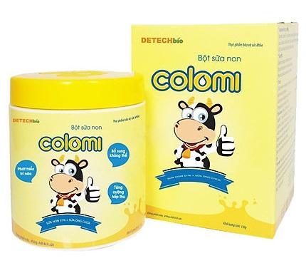 Review sữa non colomi có tốt không?
