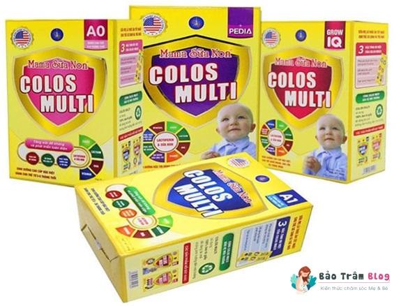 Mama sữa non Colos Multi có tốt không?