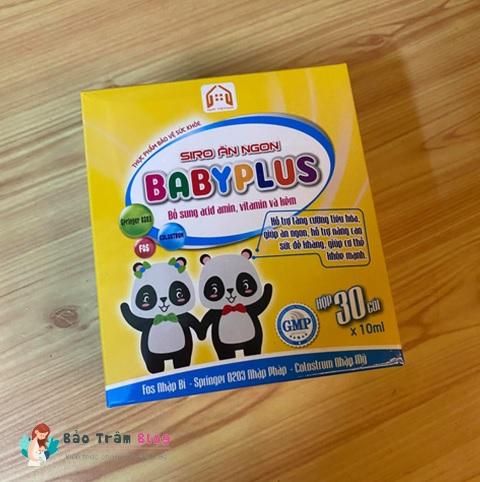 Review siro ăn ngon Baby Plus có tốt không? Bán ở đâu?