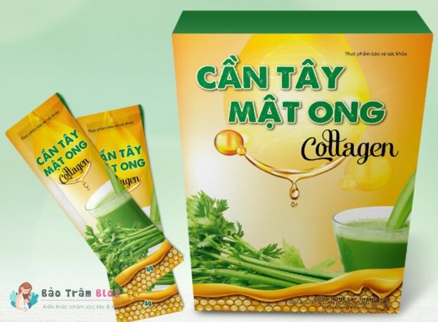 Review cần tây mật ong Collagen có tốt không? Có giảm cân thật không?
