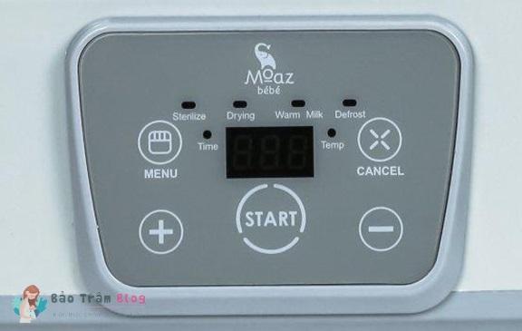 Máy hâm sữa Moaz Bebe có tốt không?