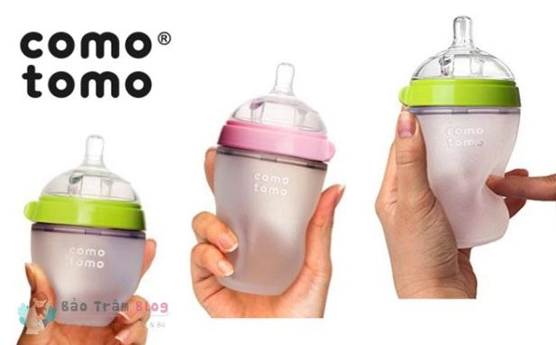 So sánh bình sữa Comotomo và Avent